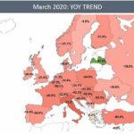 COVID привел к рекордно низкому трафику