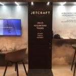 Jetcraft приземляется в аэропорту Ниццы